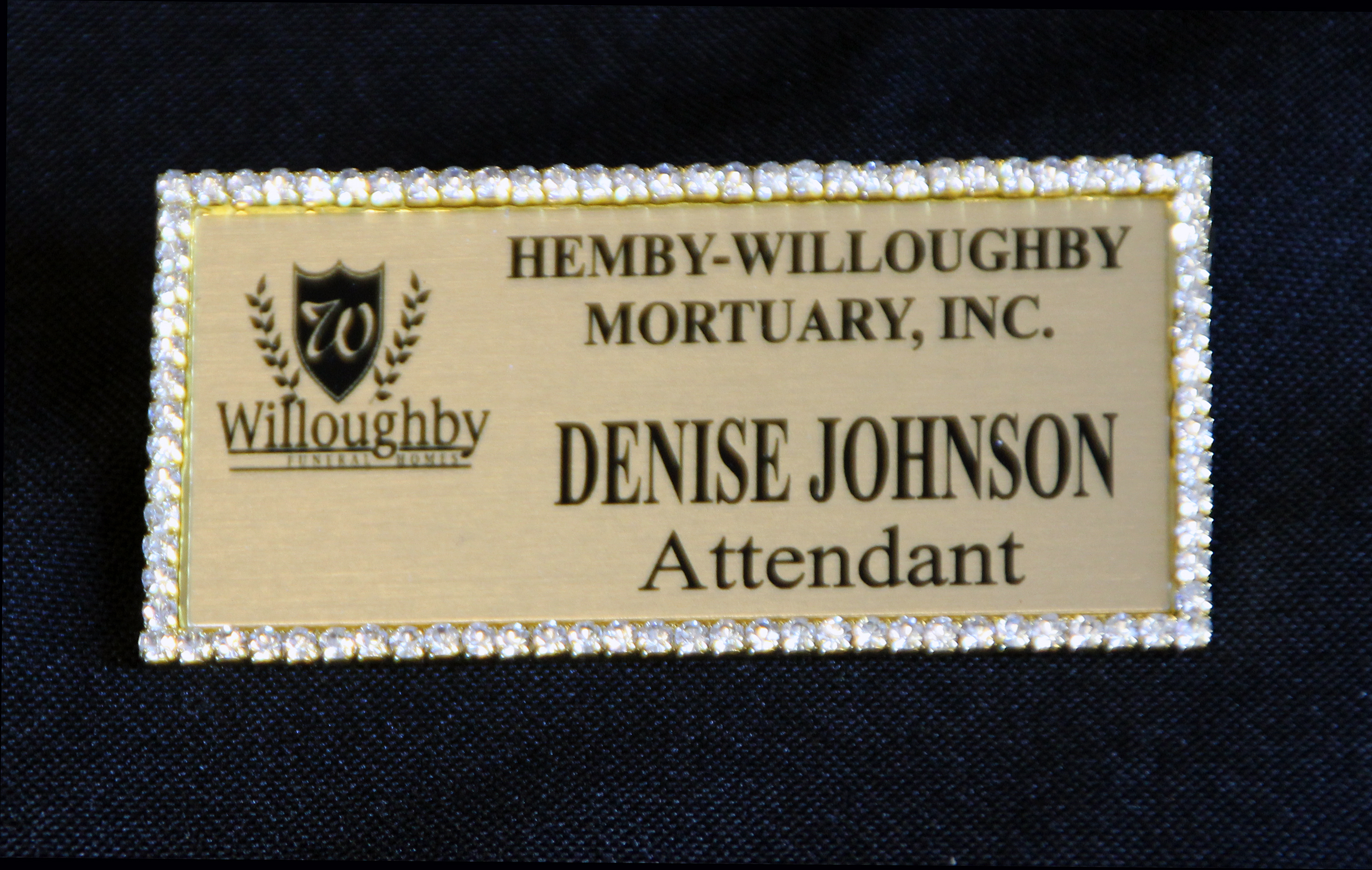 Name Tag Gold