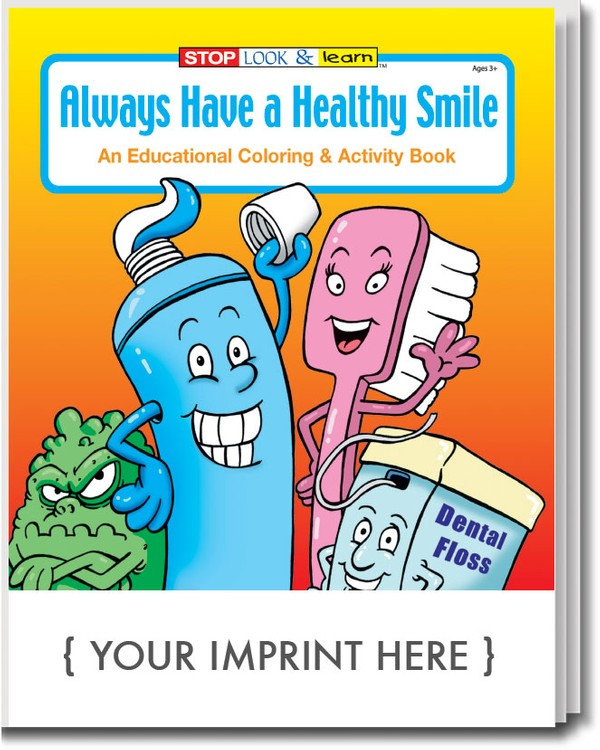 Dentist Coloring Book