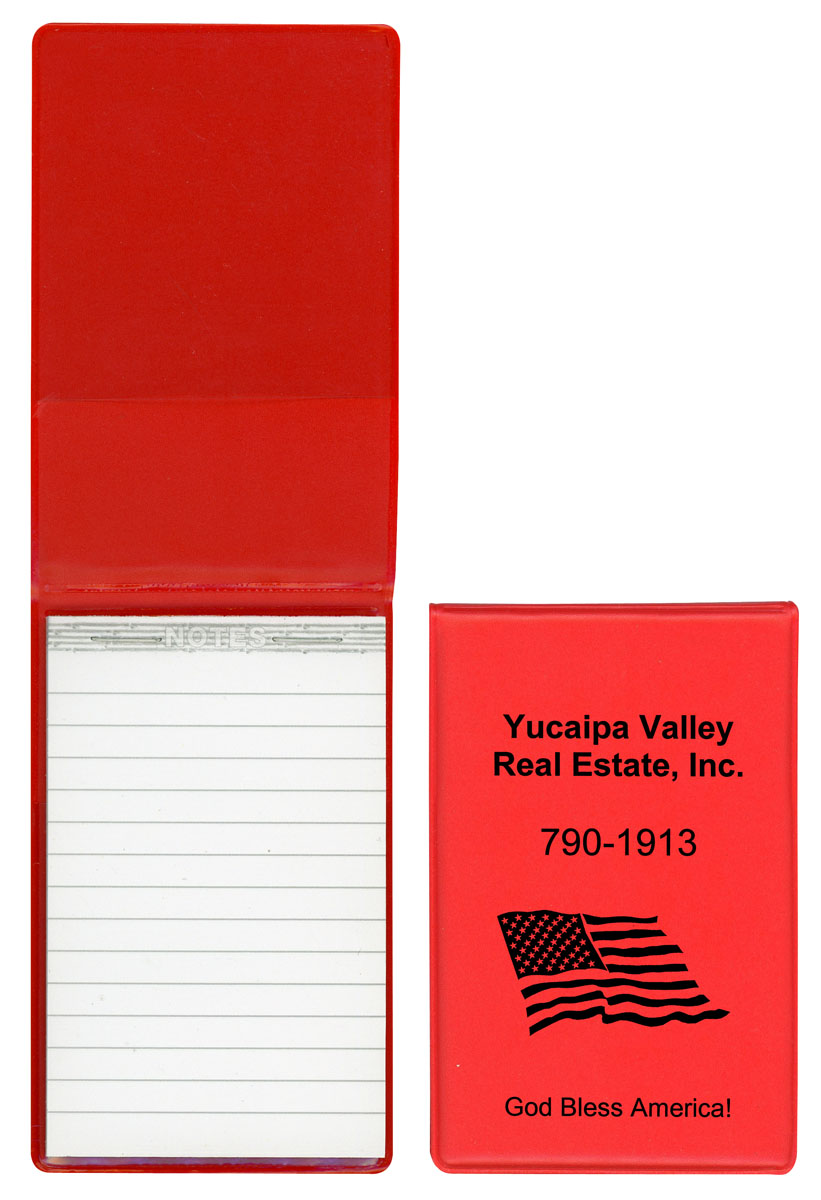 Red Notepad C779