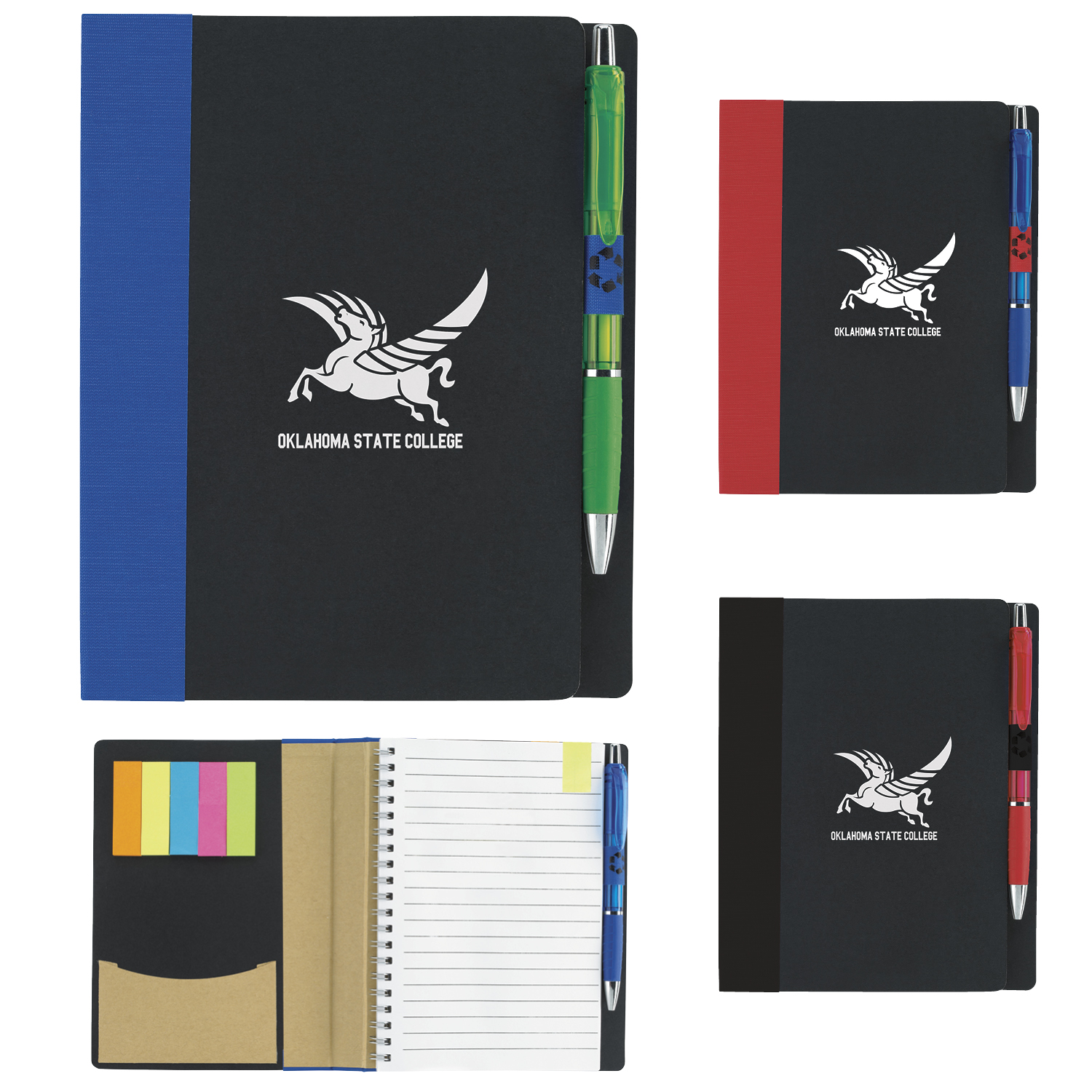 15693-5x7econotebookwflags